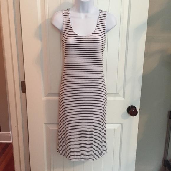 a2be0b17e51e Splendid Dresses | Tank Dress Black And White Size Small | Poshmark